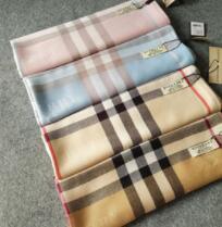 Écharpe en cachemire classique pour les femmes Design Plaid imprimé femmes châle cadeau 180 * 70cm longues écharpes
