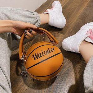 Pallacanestro Borse H K Basket femminile modello del litchi Cuoio dell'unità di elaborazione delle donne del sacchetto di modo Totes # 22334