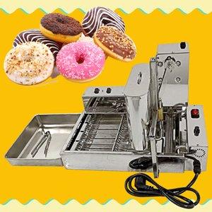 البسيطة التجاري 4 صفوف الكعك صنع صانع آلة / دونات / القلي الكعك صانع / دونات ماكينة / دونات صنع صانع آلة / ميني دونات