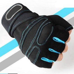 M-XL Gym Gloves Heavyweight Sports Exercise Weight Lifting Gloves Body Building Training Sport Fitness Gloves Gun Lights