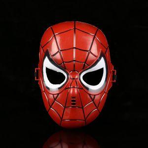 Человек-паук Бэтмен Железный Человек фильма Тема маски Halloween Party Day Детская Performance маска