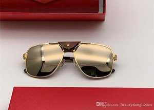 Luxury 0165 designer Sunglasses for men Women outdoor Summer square Style metal Full Frame Top Quality UV Protection Come With red box0165S