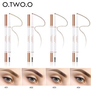 O.TWO.O Карандаш для бровей водонепроницаемый долговечны УЛЬТРАВЫСОКИХ брови Оттенка макияжа Инструменты Eye Shadow Liner Комбинация @ ME88