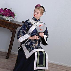 Film TV performance de scène porter chinois ancienne robe de banquet des femmes nobles traditionnel Cheongsam élégant Hanfu Cosplay Costume