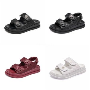 Sagace Women Sandals Flat Summer Crystal Diamond Slip On Non-Slip Rhinestone Bling Pearl Toe Ring Shoes Zapatos De Mujer 4.28#632