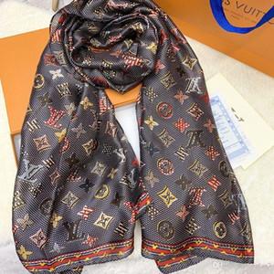 Marca de seda de la bufanda de Pashmina de las mujeres nuevo diseño clásico chales suaves bufandas de la manera larga A169 de regalo de Navidad Pashminas Bufandas