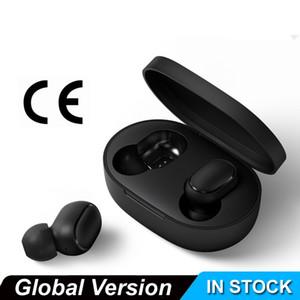 Новый Mijia Airdots реая Беспроводная Bluetooth-гарнитура, физические кнопки, голосовое управление вписывается в ухе