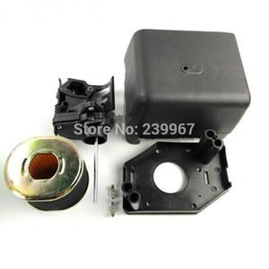 Воздушный фильтр Крышка корпуса элемента Вт / фильтр подходит Honda GX340 GX390 GX440 188F моделях GX420 двигатель двигатель водяного насоса воздушного фильтра полную замену