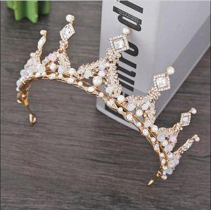 2020 High-end европейские головные уборы Кристалл Королева свадебный головной убор большая корона Принцесса Корона свадебные аксессуары для волос свадебные аксессуары