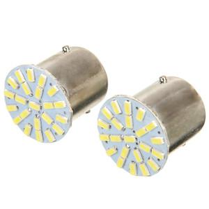 20pcs 24V Cool White Backup Light 1156 Led Bulb 1156 BA15S 1206 22SMD LED Car Reverse Turn Light Lamp