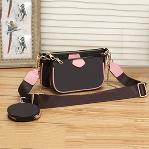 Горячие 2020 Новый стиль Мода женщин Роскошные сумки Lady PU кожаные сумки бренда сумки кошелек плеча M сумка Женский # 8811