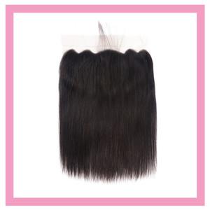 Malaysian unverarbeitete menschliche Haare 13 * 6 Spitze Frontalohr zum Ohr vorgepftetes gerades jungfräuliches Haar 13x6 spitze frontal gerade freier Teil