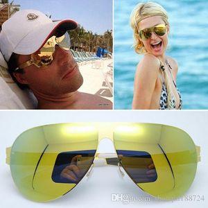 Nuevo 2019 MYKITA FRANZ Gafas de sol deportivas de alta calidad Mujeres diseñador de marca Gafas de sol Retro Alemania Marca Gafas de sol para tomar el sol en vacaciones.