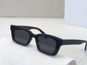 Дженни дизайнерские солнцезащитные очки для женщин мода унисекс дизайнер УФ защита объектив квадратная полная рамка позолоченная рамка поставляется с пакетом