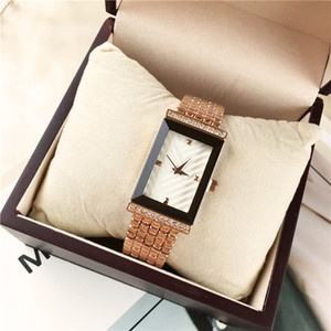 럭셔리 새로운 패션 여성 로즈 골드 레이디 Relogio 남성 레이디 손목 시계 일본 운동 도매 가격 15pcs DHL 무료 시계 시계