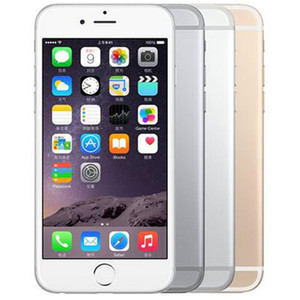 Original Refurbished Apple iPhone 6 Plus mit Fingerabdruck 5,5 Zoll A8 Chipset 1 GB RAM 16/64/128 GB ROM IOS 8.0MP LTE 4G Telefon-freier DHL 1pcs