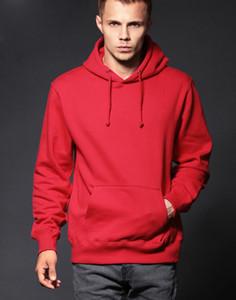 Vintage Erkek Kapüşonlular Moda Kırmızı Dikdörtgen Erkekler Kadınlar Casual Ceket Kazak Tişörtü Erkek Giyim Homme Kapşonlu Sweatshirt