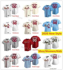 2020 nuevas mujeres de los Niños 13 Matt Carpenter 11 Pablo DeJong 18 Carlos Martínez 4 Yadier Molina 50 Adam Wainwright jerseys