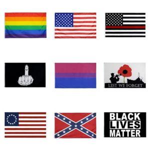 150cm * 90cm University of Wisconsin Badgers Bandiera UW Bucky Flag Banner 3 * 5FT poliestere personalizzato Hanging casa decorativo # 857