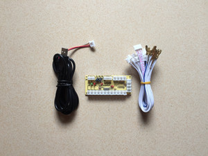 Jogo de arcade Zero Delay interface USB Encoder PC para joystick e botão para o Controlador Vara de Luta