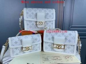 Top M44390 M44391 M44393 leather Designer bag Classic Handbag Totes Luxury Women Bag backpack bags messenger bag designer luxury handbags