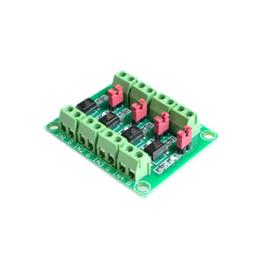 Freeshipping 10 TEILE / LOS PC817 4 Kanal Optokoppler Isolation Bord Spannungswandler Adapter Modul 3,6-30 V Treiber Photoelektrische Isoliert