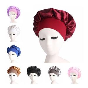 Nacht Schlaf Hut Haarpflege Cap Frauen Womens Durags Designer Hüte Durag Fashion Satin Bonnet Kappe Silk Head Wrap Haarausfall Caps Zubehör