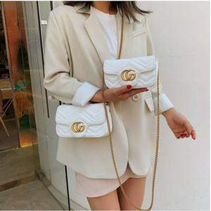 Цепочка небольшая сумка женская 2019 новая корейская линия вышивки Lingge маленькая квадратная сумка Гонконг стиль дикий одно плечо сумка