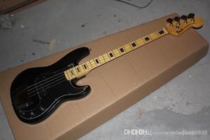 Üst Kalite Düşük Fiyat 2015 Yeni FD 4 dize siyah Hassas Bass Elektrik gitar Çin gitar