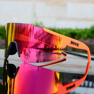 2019 Bisiklete binme güneş gözlüğü Bisiklet Gözlük Fotokromik Erkekler Kadınlar Dağ Bisikleti Bisiklet Döngüsü Güneş MTB Spor cam 3lens