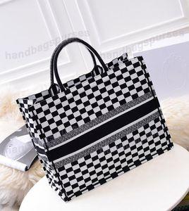 горячая распродажа роскошная хозяйственная сумка холст кожа высокое качество известный бренд дизайнер плечо мода повседневная сумки Сумки для женщин