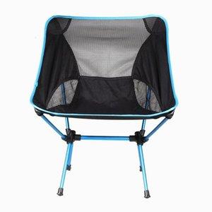 Chaise pliante Plage d'extérieur Chaise de camping Portable Seat Stool Pêche Camping Randonnée Plage de pique-nique Barbecue de jardin Chaises