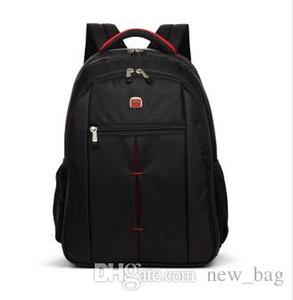 حار بيع 2017 جديد حقيبة مدرسية حقيبة الكمبيوتر حقيبة السفر للماء عارضة الرجال امرأة طالب قدرة عالية النايلون الأسود للجنسين