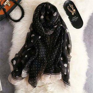 Dames élégantes écharpe de haute qualité écharpe 2019 dernier style 190 x 135 cm dames tempérament doux fil mode écharpe chaude