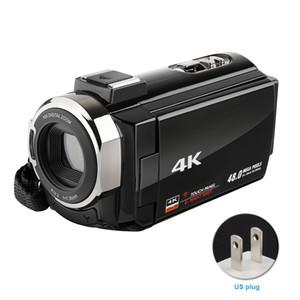 LCD Ekran WIFI Ultra HD USB 16X zoom Video Kamera Hediye Dijital Kamera Harici Mikrofon Geniş Açı Kaydedici Şarj edilebilir