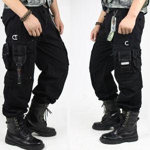 erkekler Moda için Yeni Doğa Sporları Yürüyüş Casual çok cepli tulumları Kamuflaj Ordu Giyim Taktik Pantolon Pantolon
