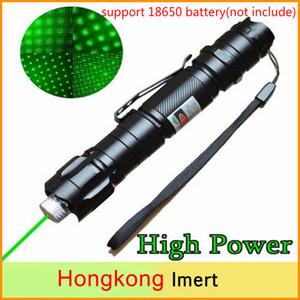 A estrenar de 1 MW haz Láser verde militar 532nm 8000M de alta potencia puntero láser verde pluma de la luz de Lazer