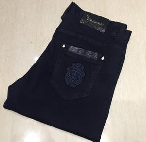 Bi * llionai * re Itali * bir Co * uture kot erkek 2019 yeni nakış moda rahat gelgit