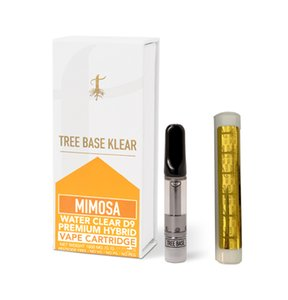 Tree base klear oil cartridge with ceramic coil 510 cartridge vape carts 10 options of packaging box