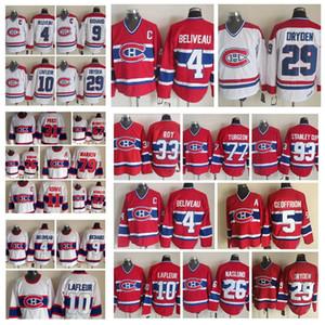 Fashion Retro Montreal Canadiens Jersey Brendan Gallagher Bernie Geoffrion Ken Dryden Maurice Richard Mens Stitched Throwback Hockey Jerseys
