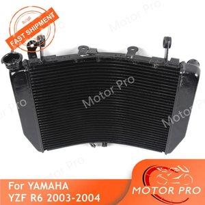 Motocicleta radiador para YZF R6 2003 2004 Cooling radiador do motor Acessórios de água de alumínio YZF-R6 03 04