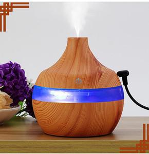2019 nuovo 300 ml anion wood-grain usb umidificatore humidificatore palla umidificatore umidificatore umidificatore tubo wood-grain aromaterapia macchina foschiatore