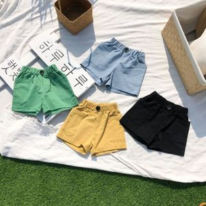 Boys and Girls Designer Short Pants Children Solid Color Shorts Kids Casual Pants Children Sport Short 2020 New Fashion Style Hot Sell