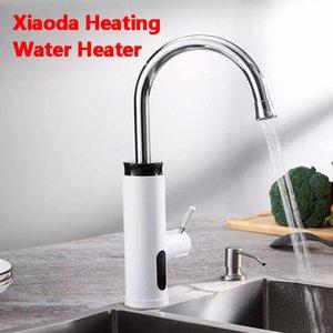 Xiaomiyoupin Xiaoda instantâneo aquecedor de água de aço inoxidável Aquecimento Faucet Tankless elétrica Hot Tubo Separação Hydropower Seguro