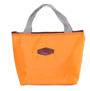 Thermal Insulated Neoprene Lunch Bag for Thermo Women Kids Lunchbags Tote Cooler Lunch Box Insulation Bag