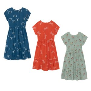 Bobozone 2019 New Bobo Mid-polpaccio per bambini Summer Dress J190505