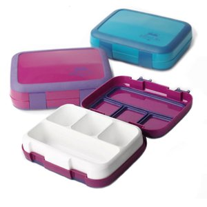 TUUTH Microwave Lunch Box Leakproof Bento Box for Children crianças Múltiplas Grids portátil Food Container SH190926