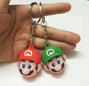 Mario Bros Грибной С Key Chain Action Doll 3 CM игрушки куклы 3 Стиль Бесплатная доставка