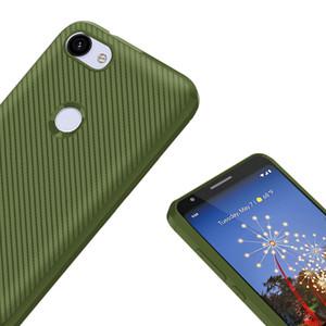 Мягкий ТПУ тонкий защитный углеродного волокна текстурированной защиты от царапин крышка телефона для Huawei Nova4i/P30 / P30 Pro / P30Lite / Honor 20 / Honor 10