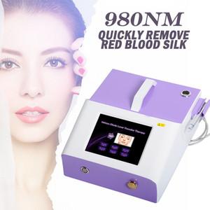telangiectasia venas 980nm eliminación diodo láser permanente 30w máquina de extracción vascular para la eliminación de los vasos sanguíneos envío libre